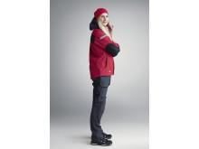 1107 AllroundWork, 37.5® vinterjakke for kvinner, rød