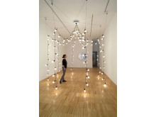 Installation view, Light Pavilion. Jeppe Hein