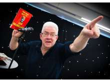 POET: Ian McMillan mixed stand-up comedy with poetry for an hilarious hour of rhyme.