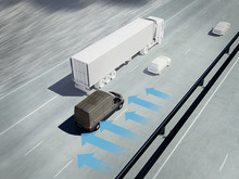 Ford Transit - Side Wind Stabilisation