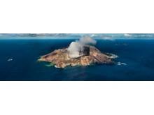Aktiva vulkan på Nya Zeeland - White Island