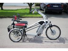 Side-by-side-cykel