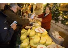 Julmarknad på Högestad Gods utanför Ystad