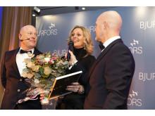 Sven-Erik Kristensen regionchef Göteborg, Pernilla Berger Bjurfors Kungälv, Mats Ljung vd Bjurfors