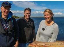 Gone Camping - Erica med fiskeguider och nyrensad gädda