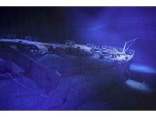 Das Schiffswrack der Titanic im neuen 360°-Panorama von Yadegar Asisi im Panometer Leipzig