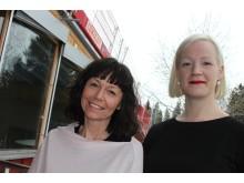 Helena Ranängen och Åsa Lindman