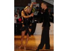 Yvo Eussen och Elisabeth Novotny - Svenska Mästare i Latinamerikanska danser 2012