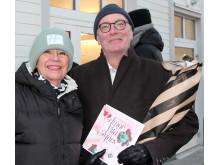 Ann-Katrin Sämfors och Erik Westberg