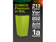 CUBICO Premium in RAL