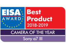 EISA Award Logo Sony a7 III dropshadow