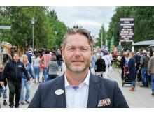 Tommy Abrahamsson, vd Nolia AB, på Stora Nolia i Piteå 2016.