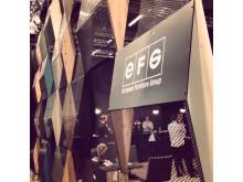 EFG voitti vuoden parhaan näytteilleasettajan palkinnon, Tukholman huonekalumessut 2015
