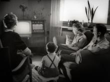 Vardagsrummet, 1950-tal. Foto: Karl Heinz Hernried, Nordiska museet.