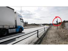 Østeuropeisk vogntog uten utslag