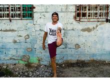 Yoga Girl Sun t-shirt Dennis