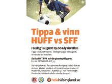 Tippa & vinn i derbyt mellan HuFF och SFF