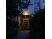 Bild 3. Fox Design belysning till Kv. Barnängen i norra Hammarbyhamnen.