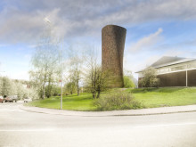 Avluftstorn Norra länken