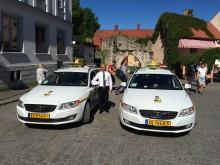 Taxi Göteborg på plats på Gotland under Almedalsveckan 2015.