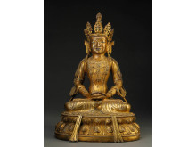 Kinesisk Buddha, Sophus Black, Lauritz.com