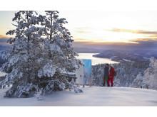 Världens längsta konstrunda – 160 mil runt Norrland_Skuleberget. Foto Norrmejerier
