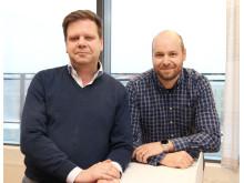 Göran Falkman och Alexander Karlsson