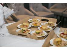 Hönburgare med chilikimchee och vitlök
