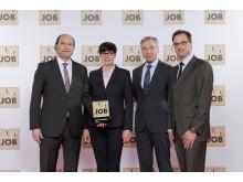 Wolfgang Clement zeichnet Lyreco Deutschland als Top Job Arbeitgeber 2016 aus