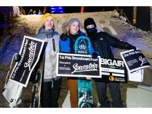 Vinnare snowboard herrklass