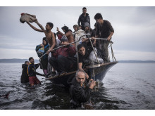World Press Photo General News, 1st prize stories – photo 1  Sergey Ponomarev, Russia, for The New York Times Reporting Europe's Refugee Refugee CrisisCrisis, 2015