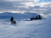 Skitur til Måskanhytta  i Indre Troms