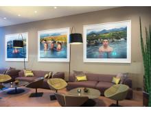 Living Room på Clarion Hotel Arlanda Airport