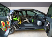 Kia Niro Triathlon interiör