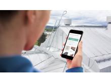 Smart lösning för taksäkerhet