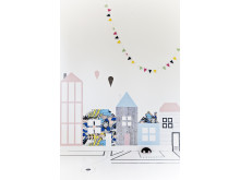 Kids room - houses - Photowall