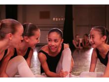Ballet Girls Laughing