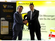 Marco Hauprich und Jürgen Litz freuen sich über die gemeinsame Kooperation