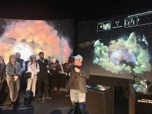 Indvielse af ny udstilling MADE IN SPACE