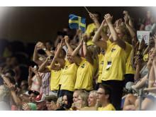 Publikens stående ovationer efter Oliver Åström-Möllers framträdande i freestyle