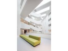 Center for Sundhed Holstebro, atrium sofa