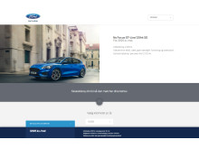 Ford Focus privatleasing fra kr. 2.295,-