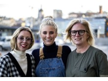Trio Kristina Tjäder Penny Alexandra Sparks generation