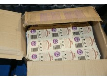 Operation Garlic - Counterfeit labels