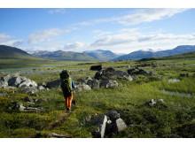 På fjelltur i Nordland