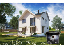 Intact Akrylatfärg - Hus och burk
