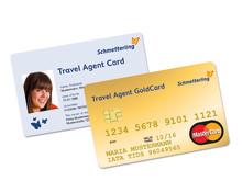 Print-Bild: Mit Schmetterling doppelt profitieren: Expedienten erhalten für drei Jahre die Schmetterling Travel Agent ID Card und Schmetterling Travel Agent GoldCard kostenlos