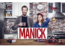 I höst visar MediaMarkt upp hemelektronikprylar på ett helt nytt sätt, nämligen i tv-serien Manick där kreativitet och innovation hyllas.