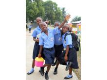 Schulstart an SOS-Schulen nach Ebola
