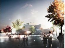 Nye pladser i Billund - Ankomstpladsen